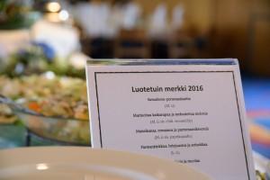 Luotetuin Merkki Gaala 2016