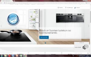 Bosch nettisivut